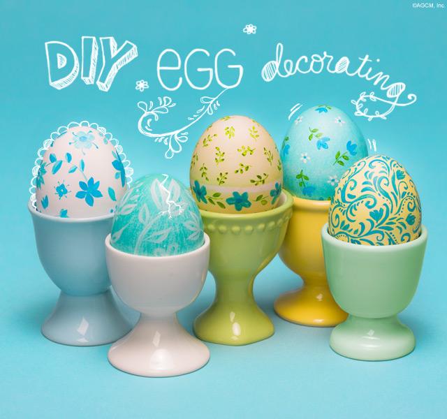 Egg decorating!