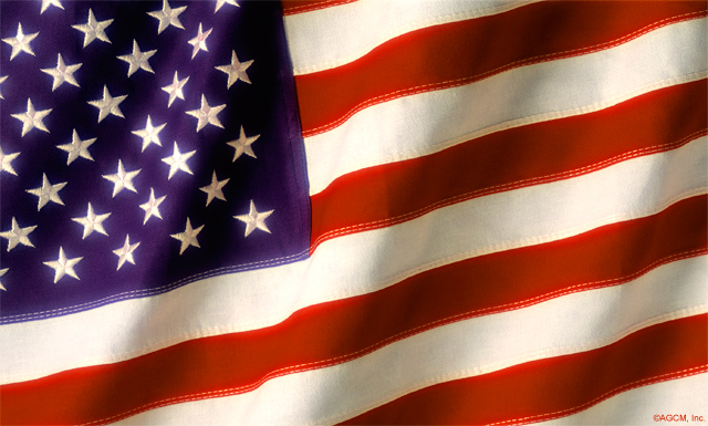 4th of July: American Flag