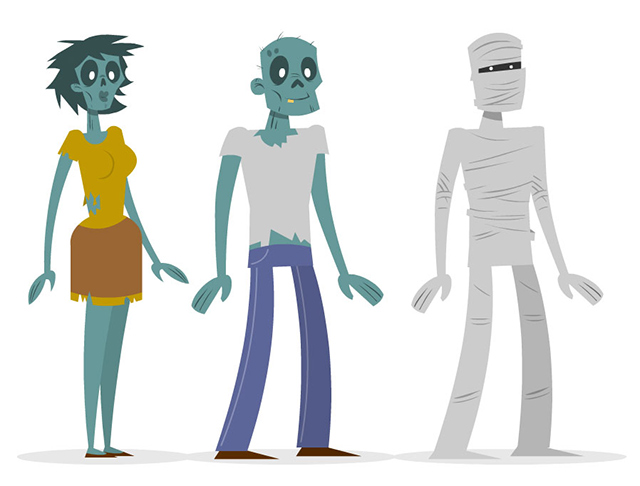 Zombie Characters