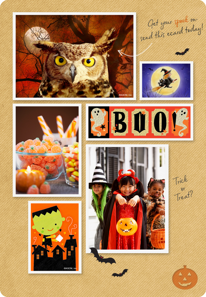Happy Halloween - fun and spooky ecards to celebrate the season.