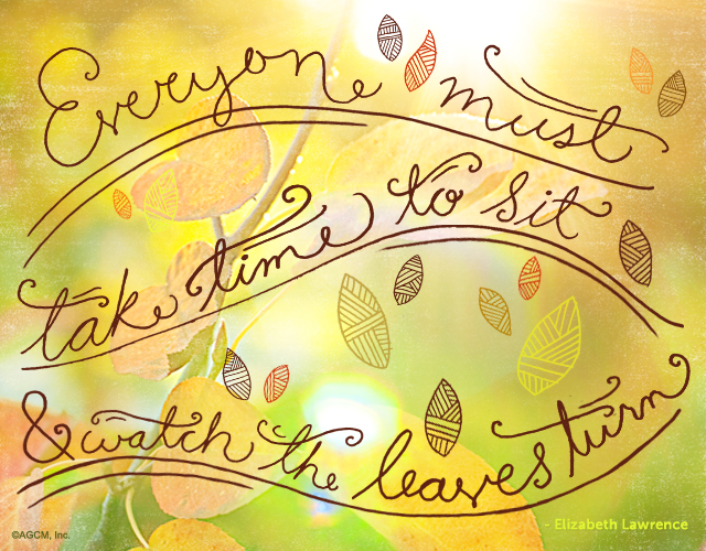 turning leaves quote