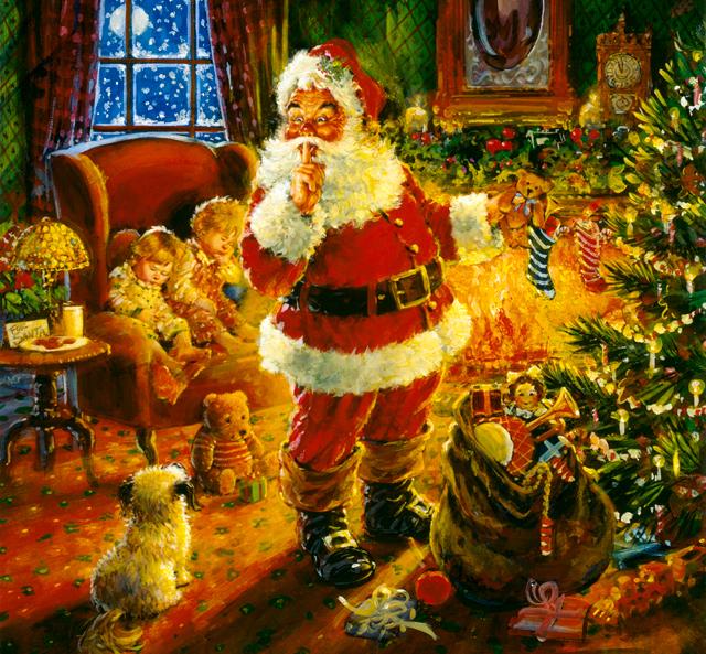 Classic Santa Class