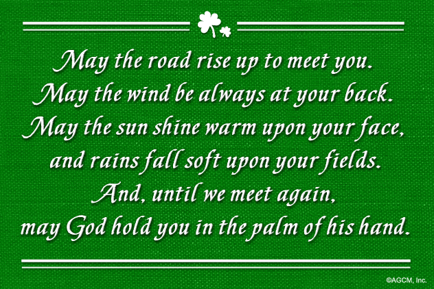 may the road rise to meet you in gaelic translation