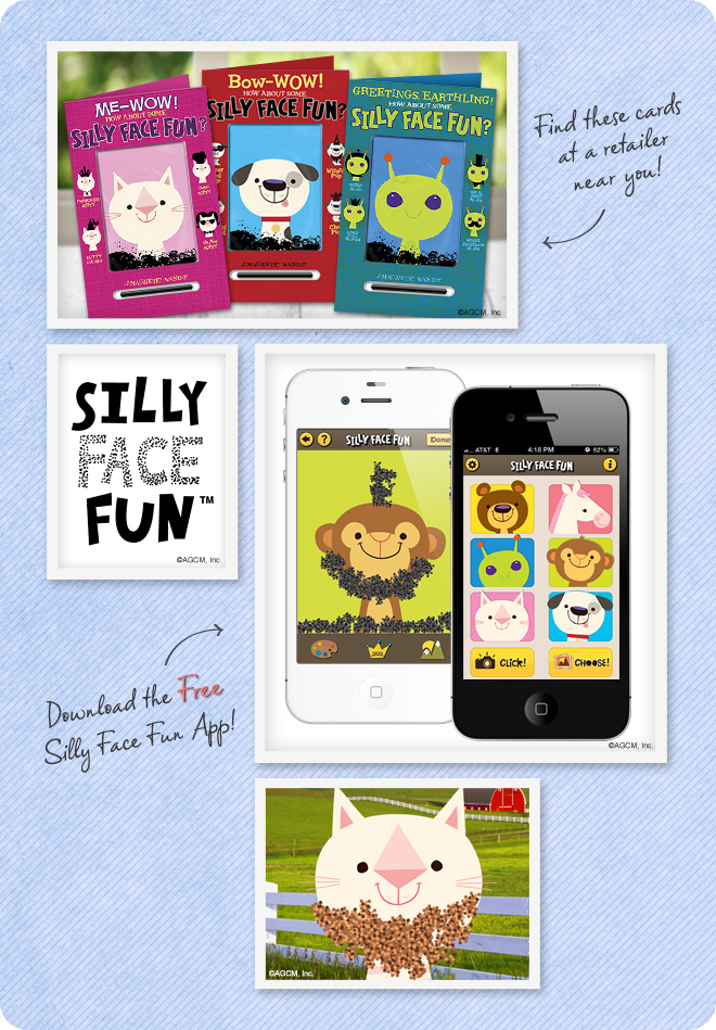 Silly Face Fun Mood Board from StayInspired365.com