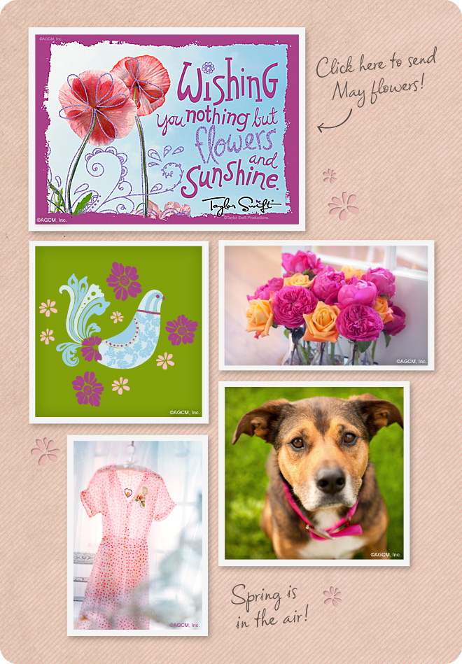 May Day Mood Board from StayInspired365.com