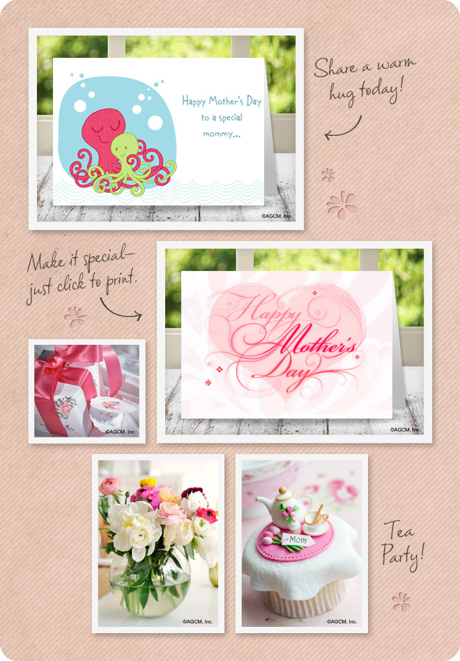 Mother's Day Mood Board from StayInspired365.com