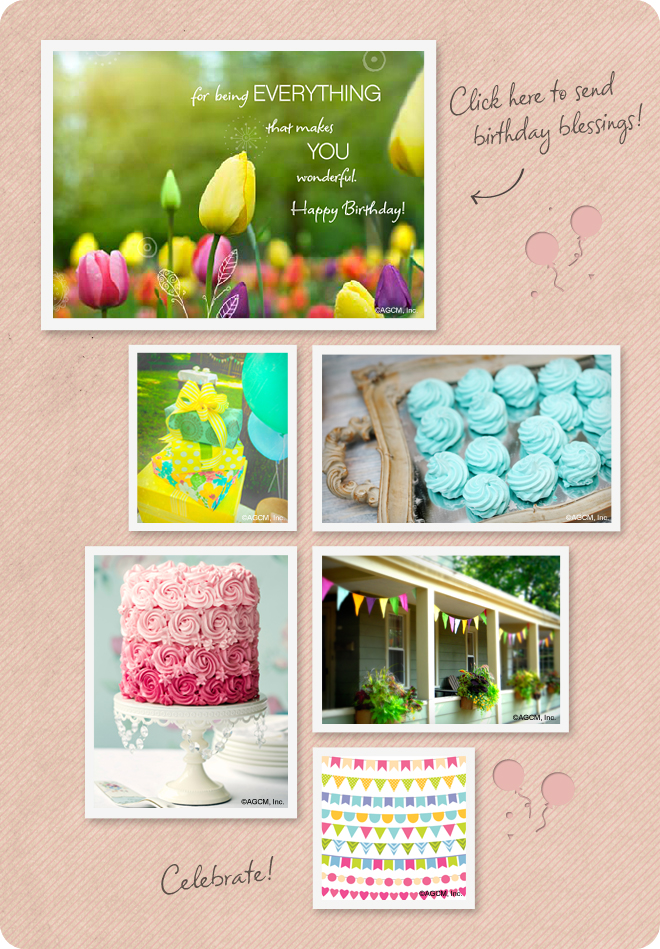 Birthday Wishes Mood Board from stayinspired365.com
