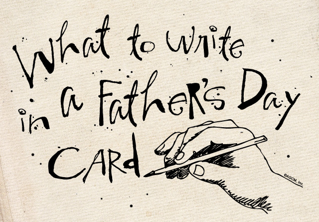 Father's Day what-to-write from stayinspired365.com