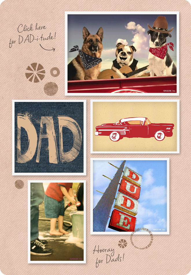 Funny Father's Day mood board from StayInspired365.com