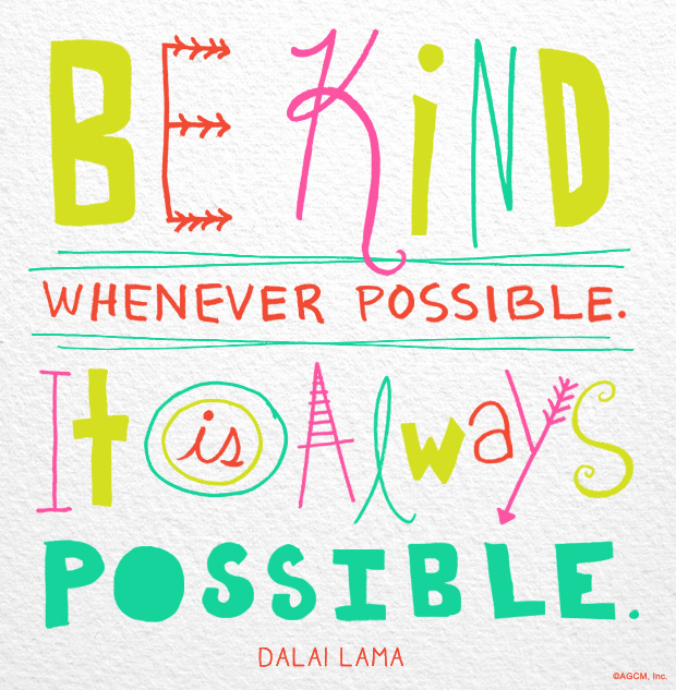 Quote About Kindness Pleasing Always Be Kind  American Greetings Blog