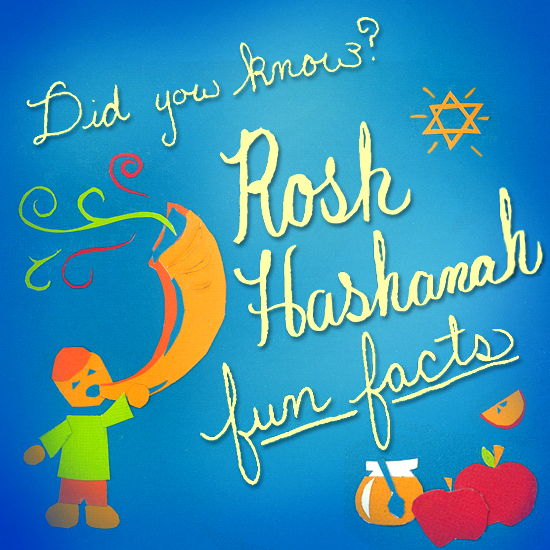 Rosh Hashanah Fun Facts from StayInspired365.com
