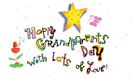 Happy Grandparents Day from StayInspired365.com