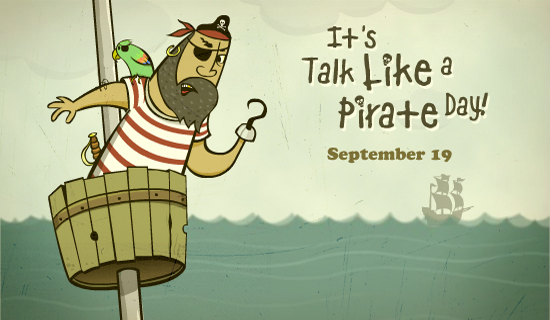 Talk Like a Pirate Day ecard
