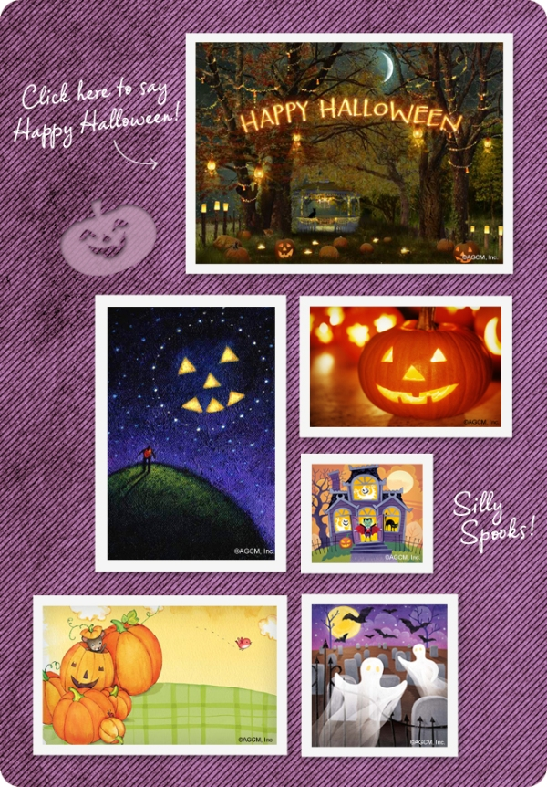 View our Halloween ecards