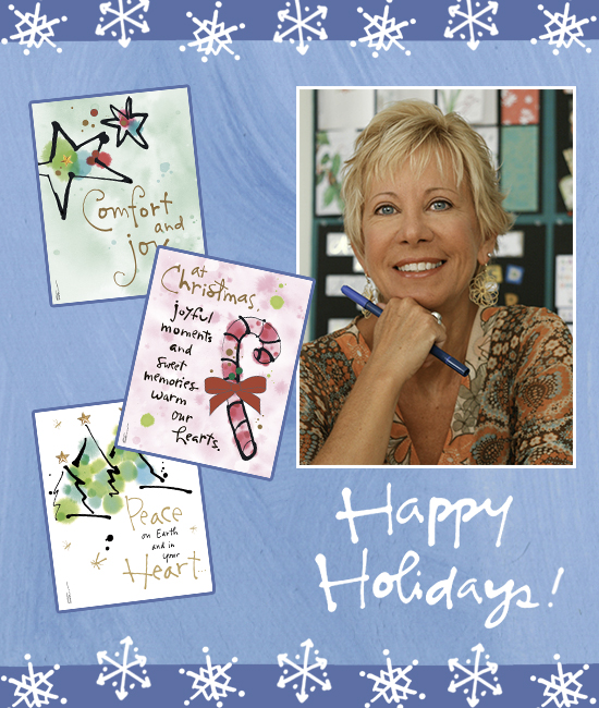 Happy Holidays from Kathy Davis Studios